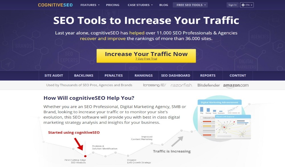 CognitiveSEO Backlink Analysis