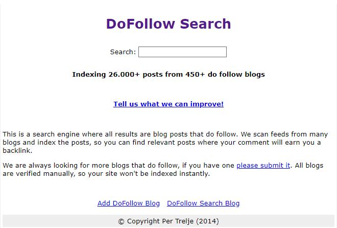 Dofollow Blog Posting Sites