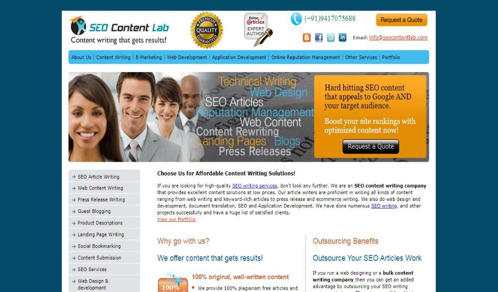 SEO Content Lab