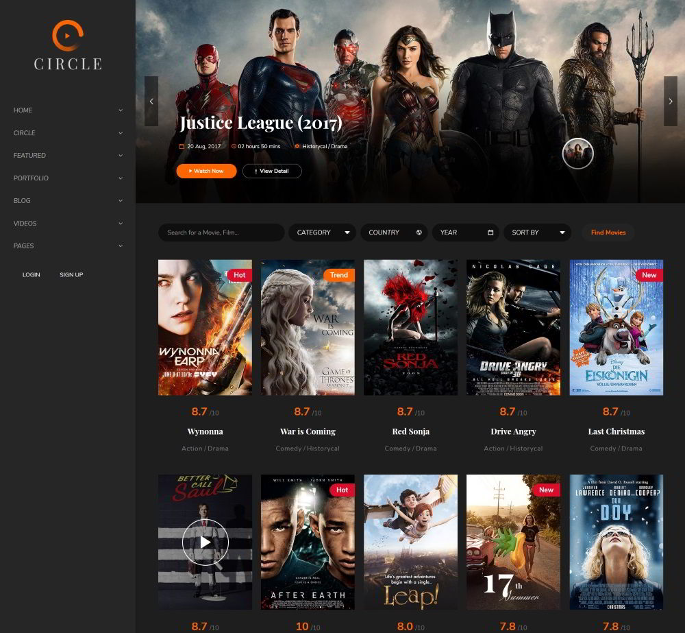 25 Best WordPress Movie Streaming Themes In 2019 - Prospected
