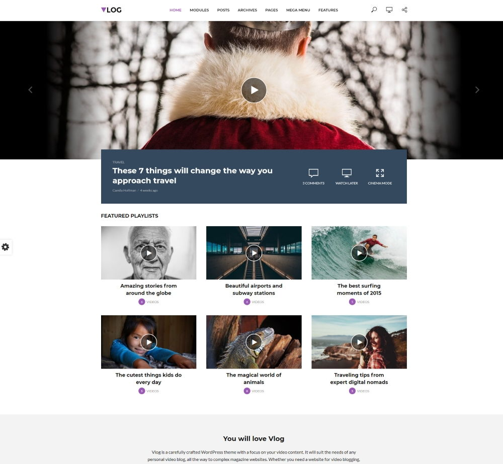 25 Best Free WordPress Movie Themes in 2019 - Prospected