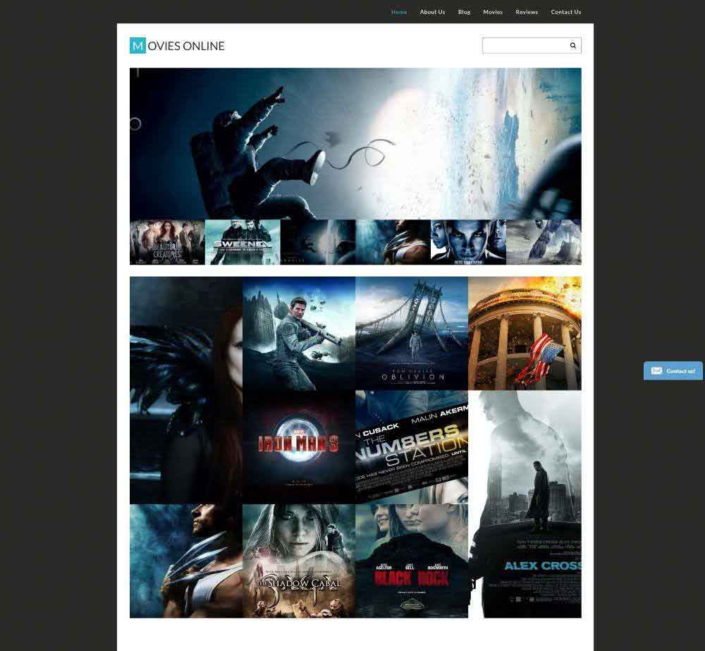 Movies Online by Zemez Demo Layout