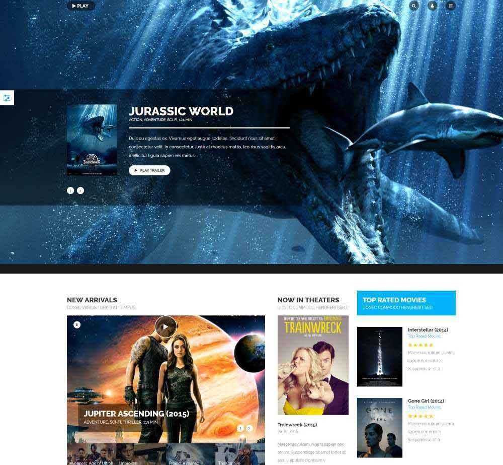 Play by Youjoomla Demo Layout