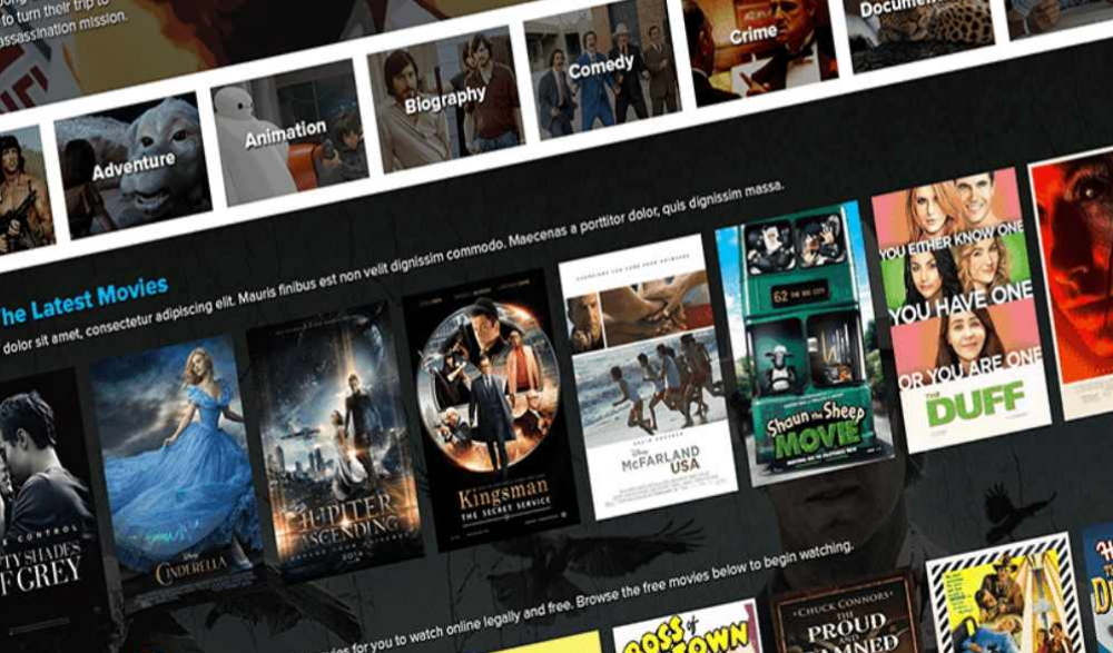 Best Movie Bootstrap Templates