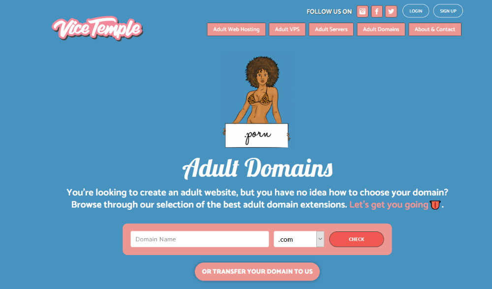 Vicetemple Domains